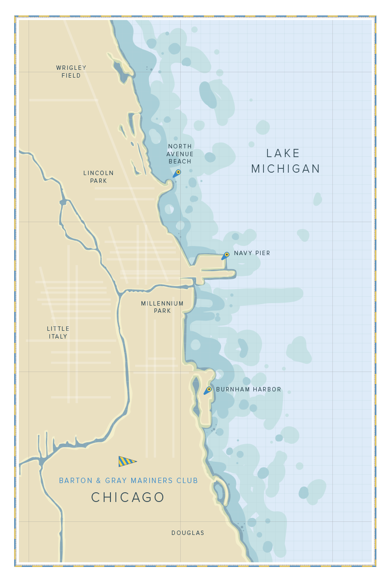 Chicago Harbor PaddlingFishing Belmont Chicago Harbors DuSable - Chicago map navy pier